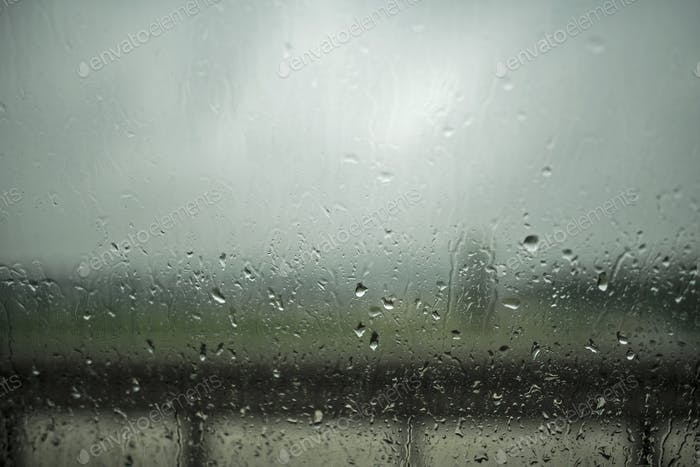Dark and Rainy Day Outside