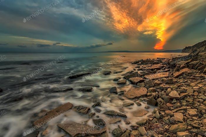 Erstaunliche Wolken