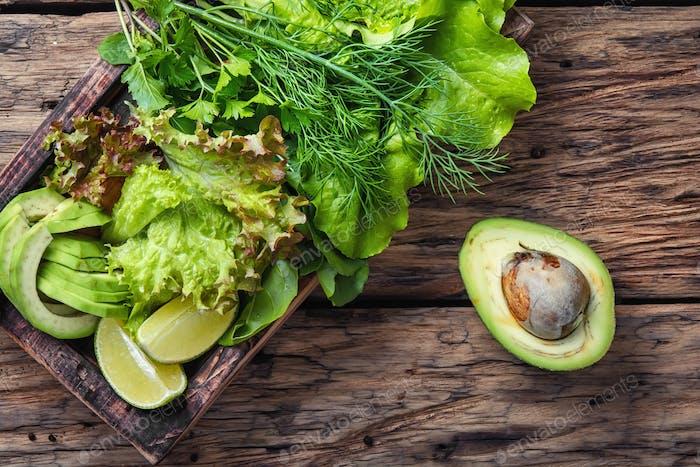 detox vegetable lettuce