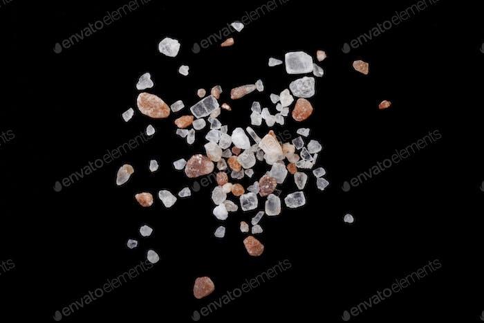 Himalayan Crystals on Black