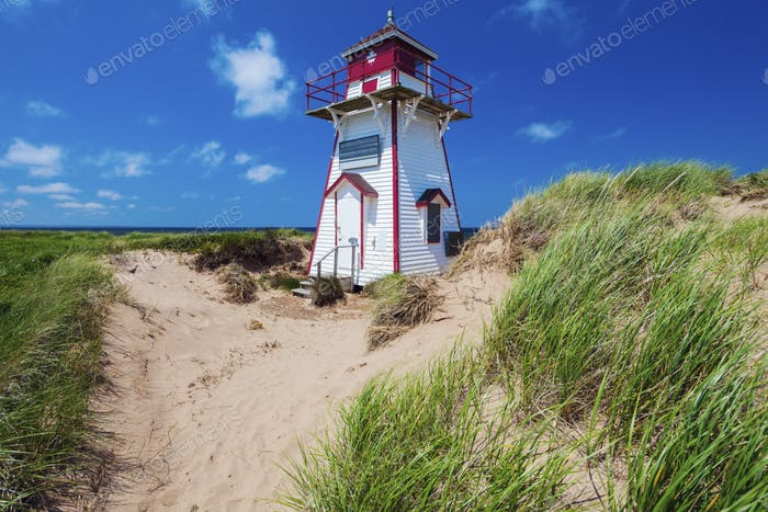 Covehead Harbour Lighthouse on Prince Edward Island