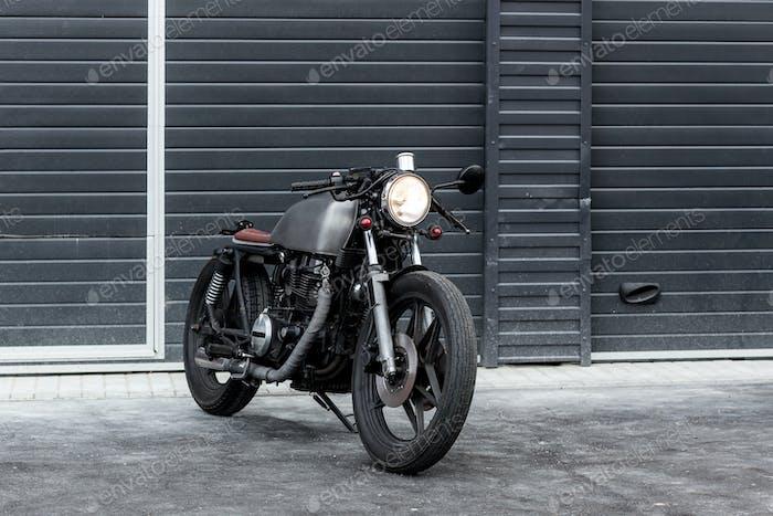 Vintage Motorrad Cafe Racer Stil