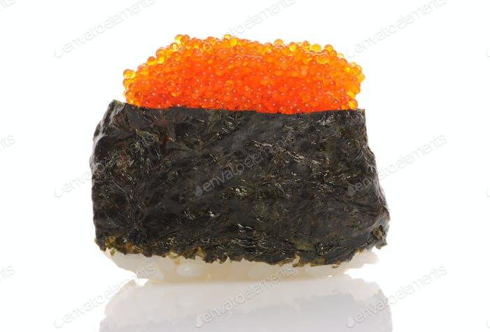 Tobiko sushi