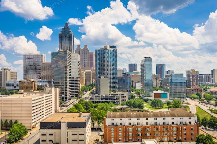 Atlanta, Georgia, USA Downtown Skyline
