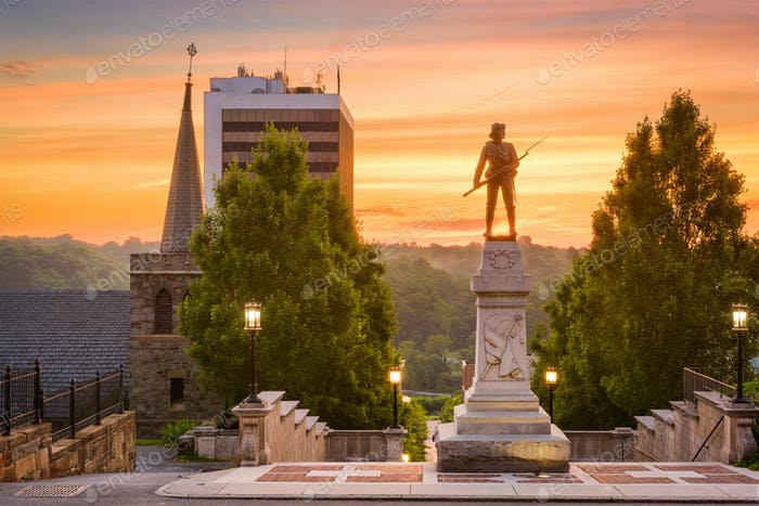 Lynchburg, Virginia Denkmäler