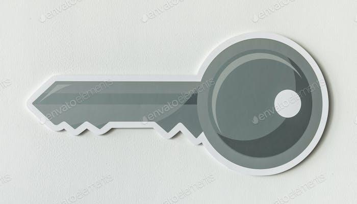 Key security access icon symbol