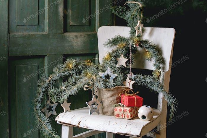 Weihnachts-Keramik-Sterne