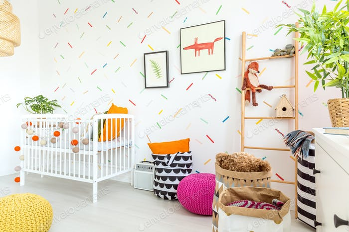 Cozy baby room