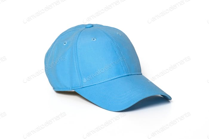 Light blue adult golf or baseball cap