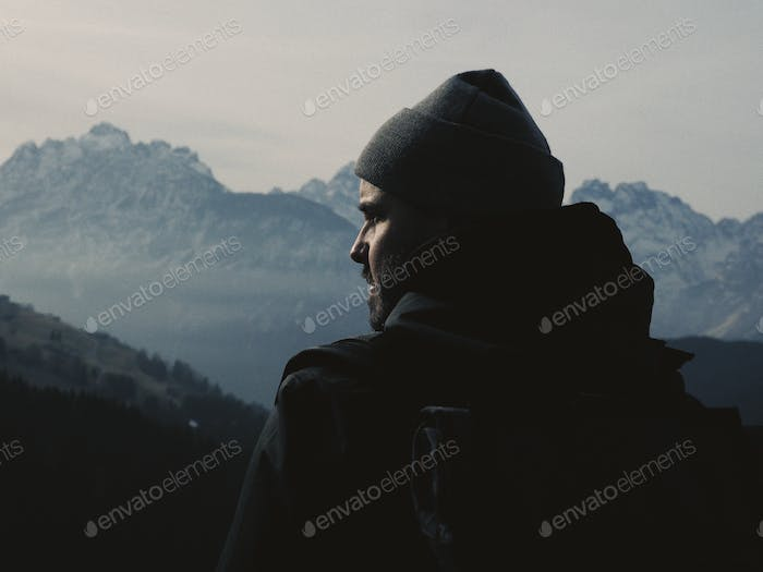 Man of the mountains.