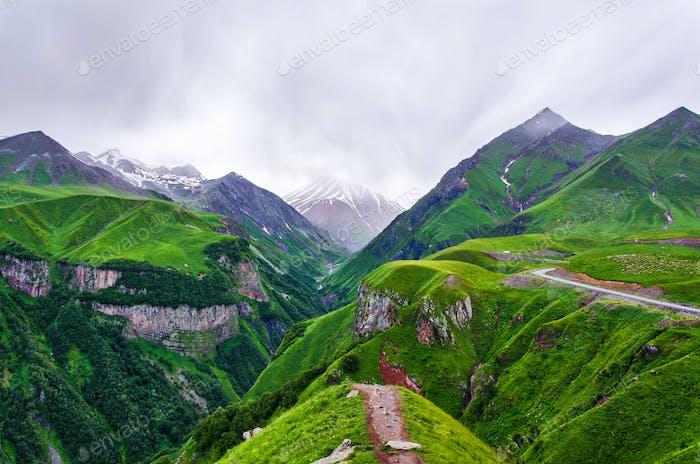 Rainy Caucasus