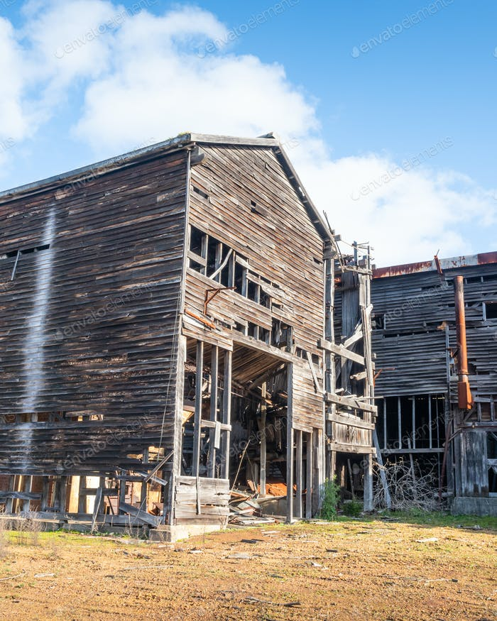 An Abandoned Sawmill in Donnelly River