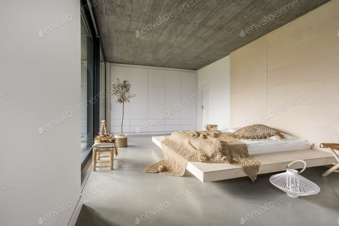 Apartment with marital bed
