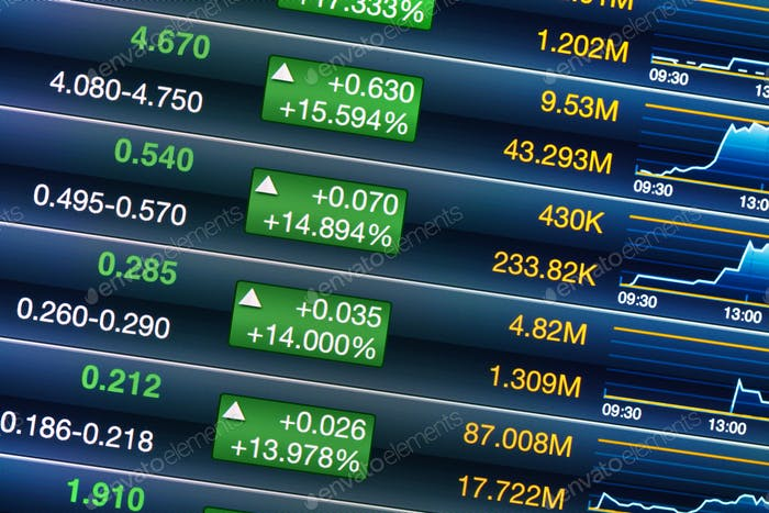Increases of stock market