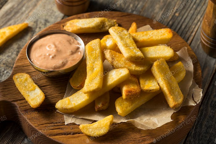 Idaho Fry Sauce with French Fries