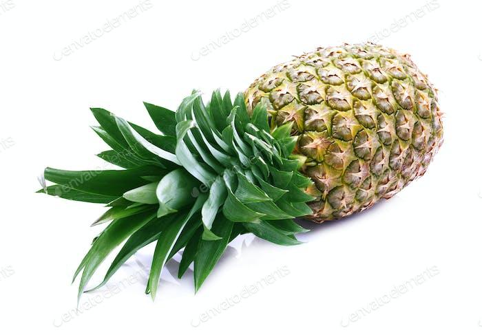Reife saftige Ananas.