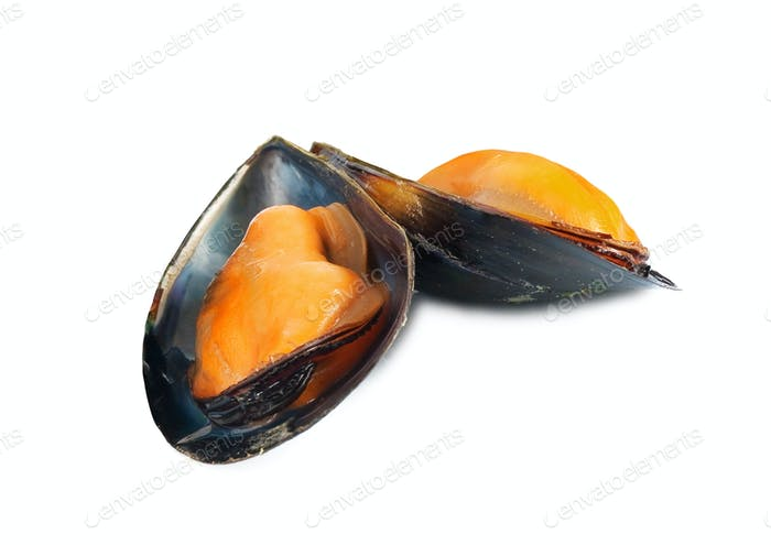 Some mussels just cooked