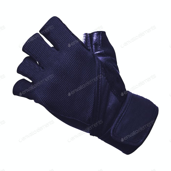 Bike gloves isolated