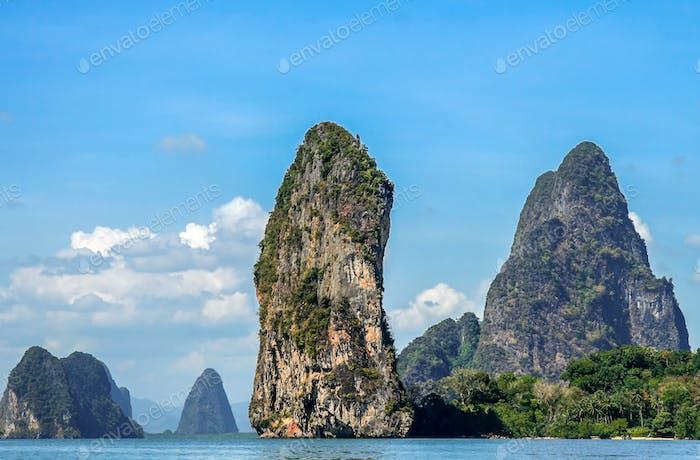 Thailand coastline scenery