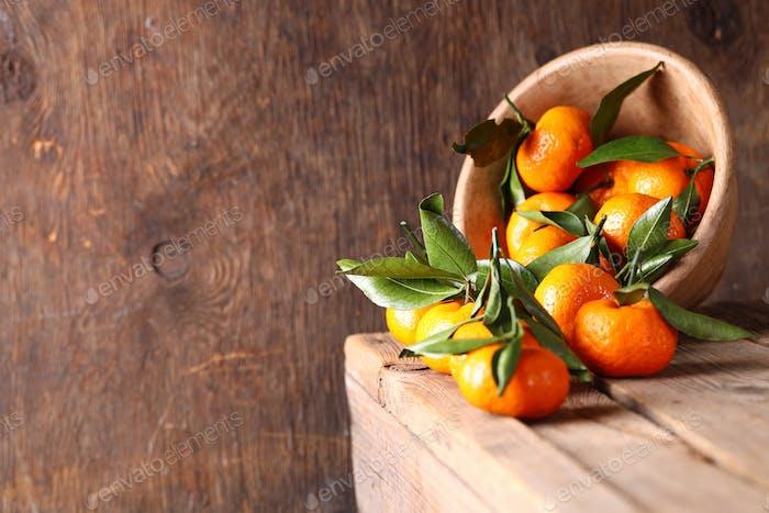 Fresh Ripe Fruit Tangerines