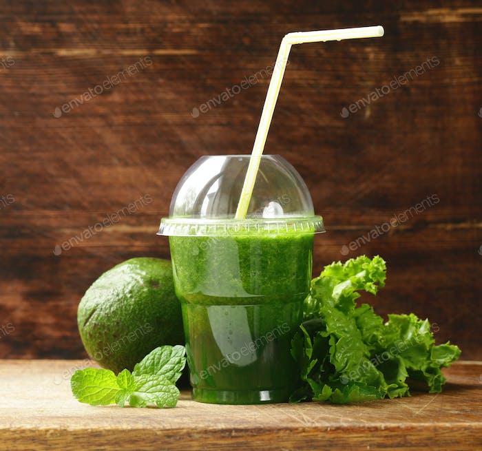 Organic Smoothie from Avocado
