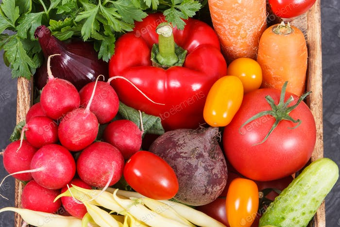 Fresh vegetables as source minerals and vitamins