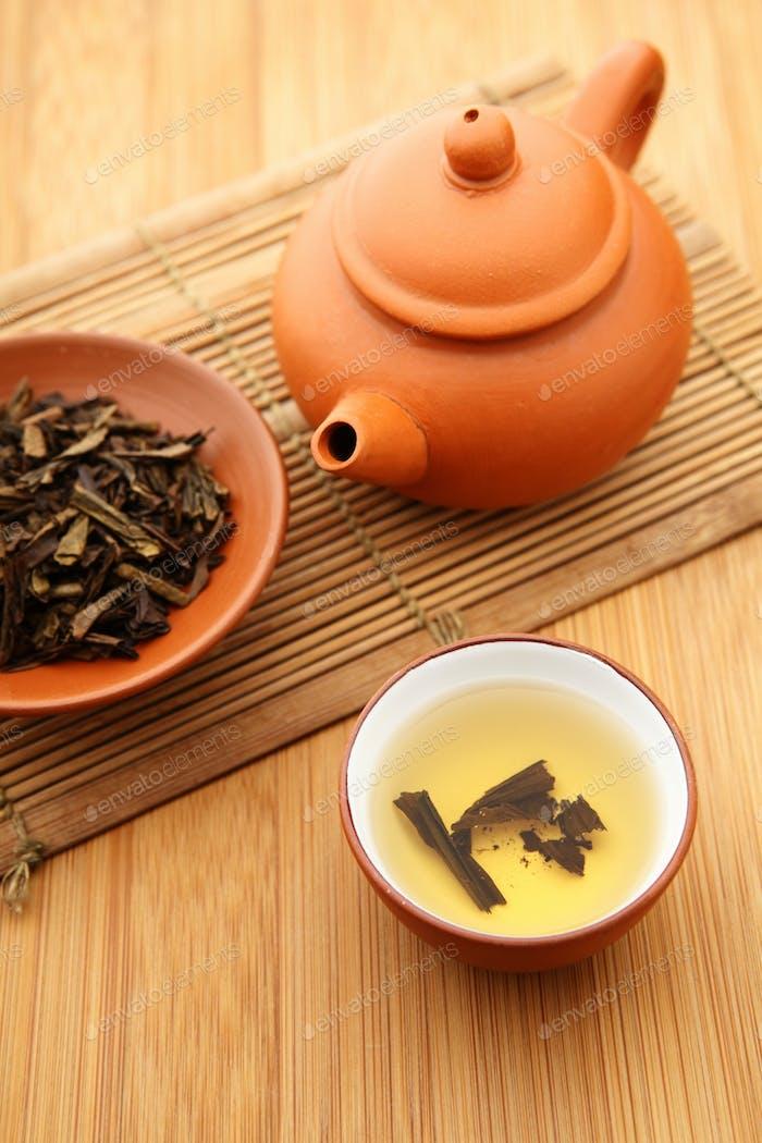 Chinesische Tee-Zeit