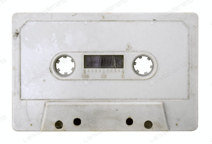 Grungy Tape with Clipping Path Isolated on a White Background
