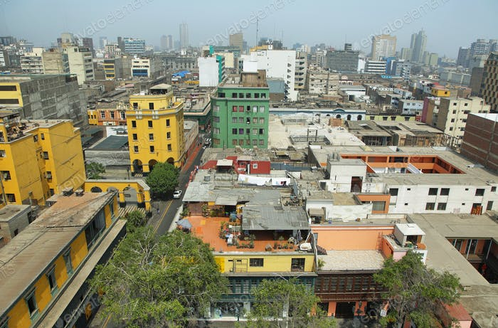 Elevated view of Lima