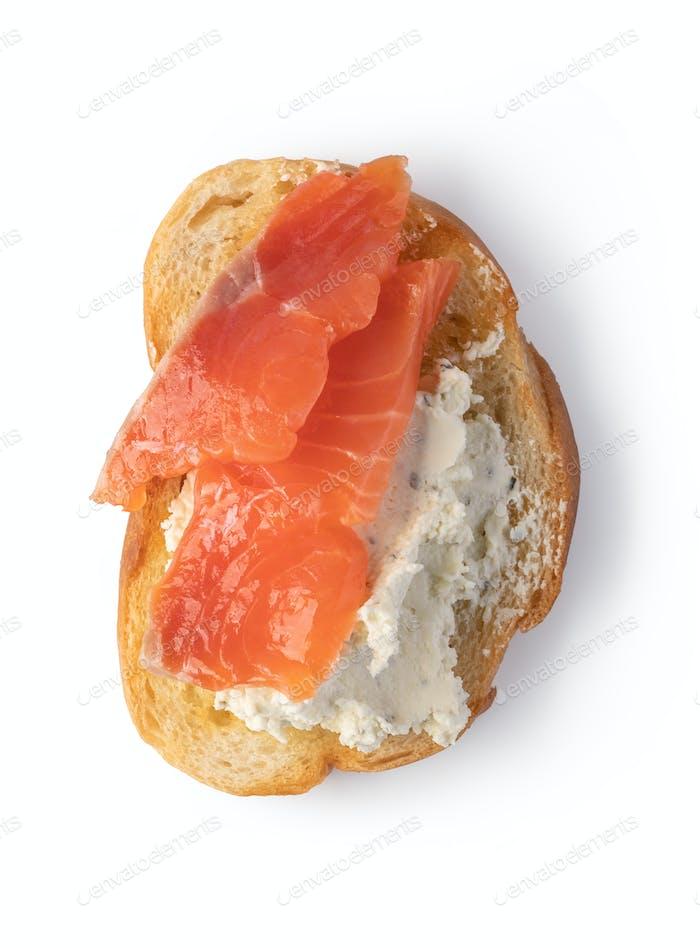 Traditional italian Bruschetta