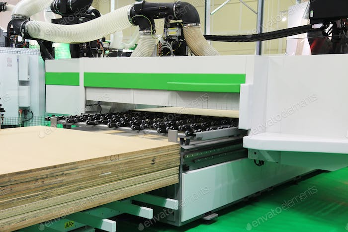 Equipment for woodworking industry