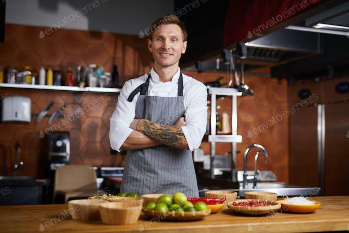 Chef Posing