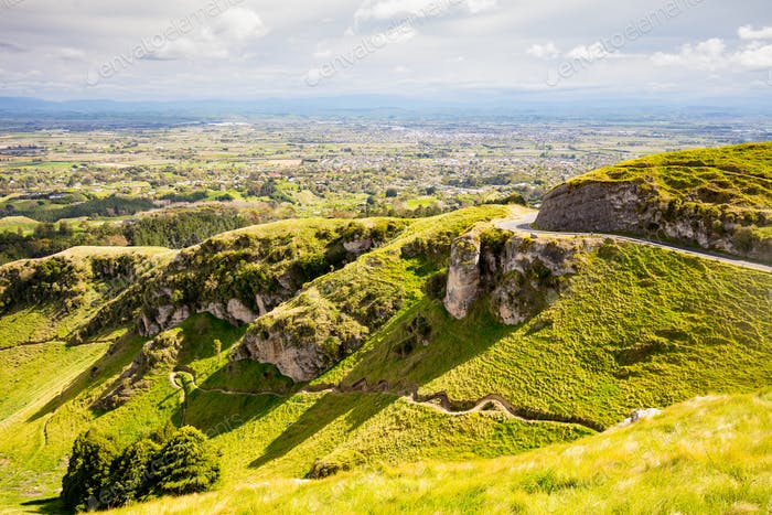 Te Mata Peak New Zealand