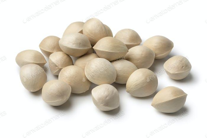Fresh raw ginkgo biloba nuts
