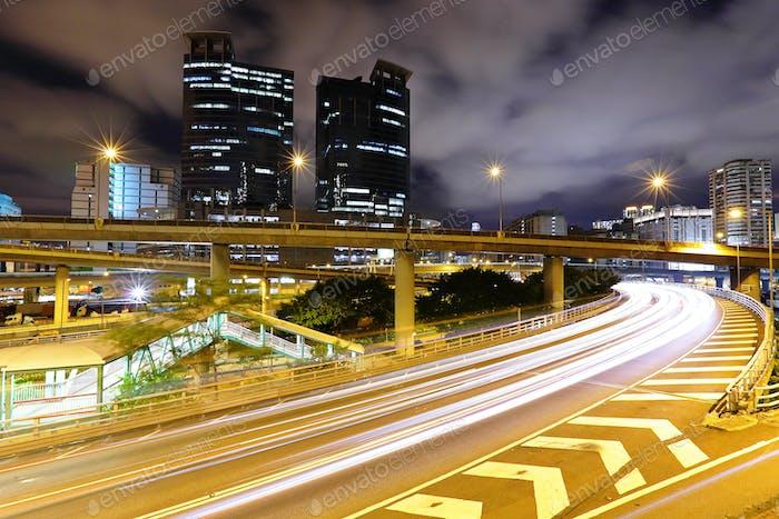 traffic in city