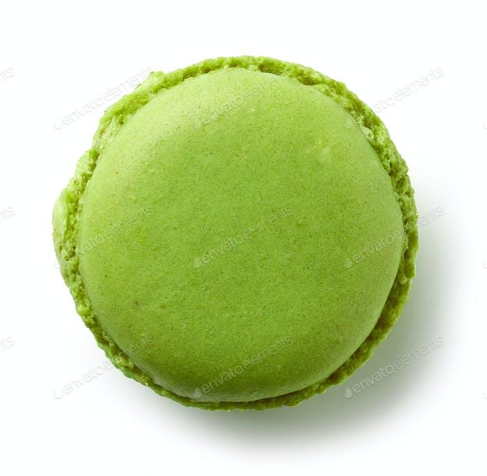 green mint macaroon