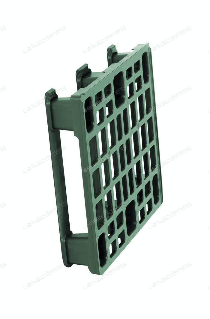 plastic pallet isolated