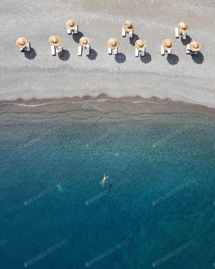 Beach in Karpathos, Greece