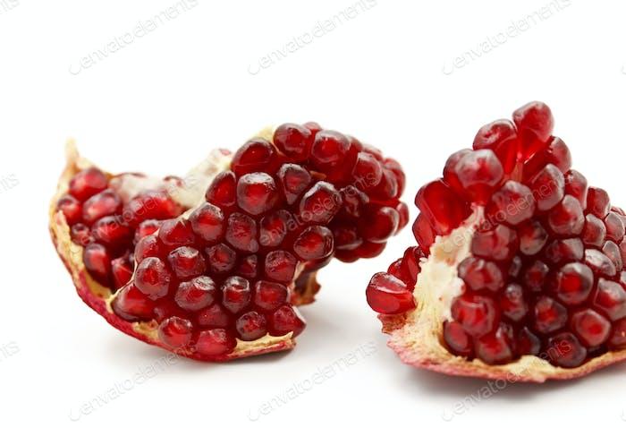 tasty pomegranate fruit