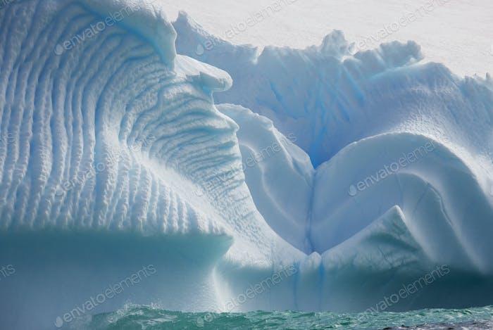 Iceberg along the Antarctic Peninsula.
