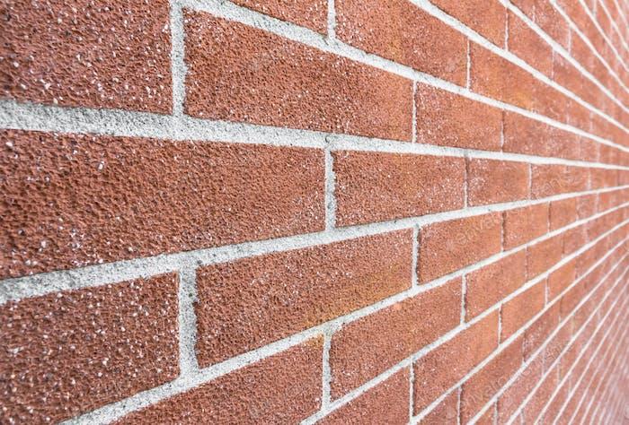 Nahaufnahme Ziegelmauer Textur