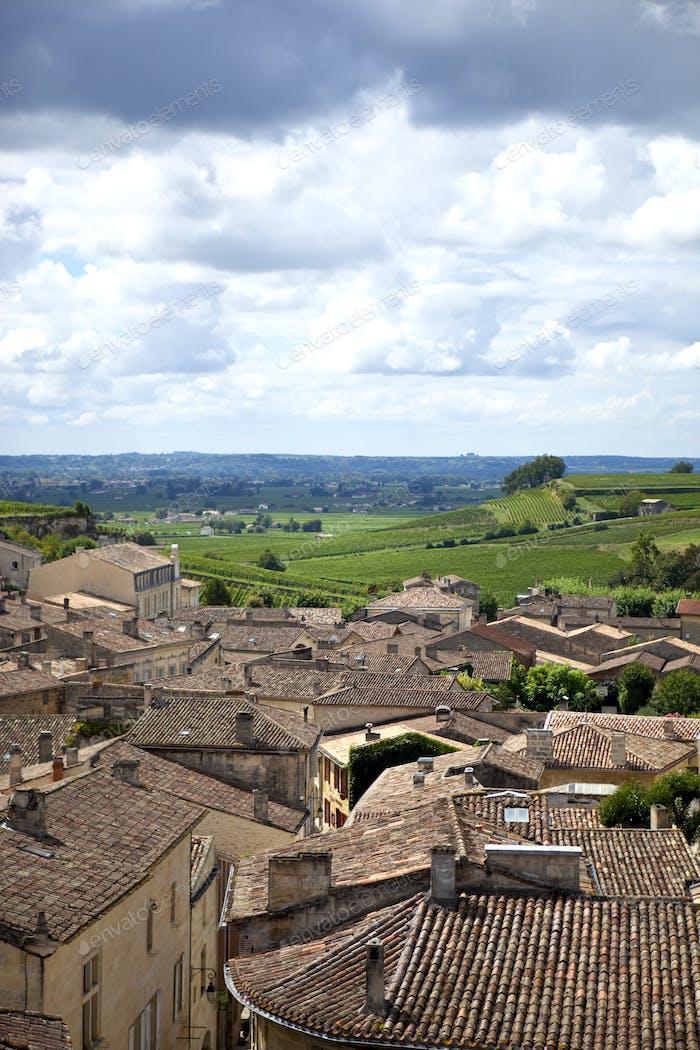 Village of Saint-Emilion, France
