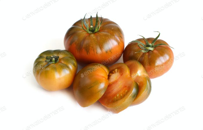 Fresh costoluto tomatoes