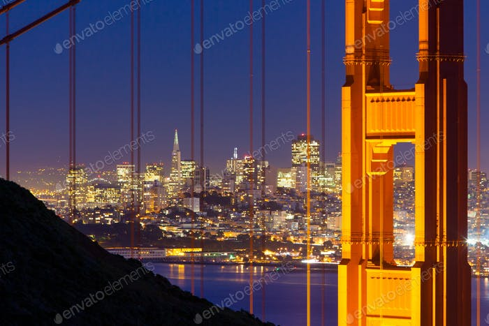 Blick auf das Golden Gate
