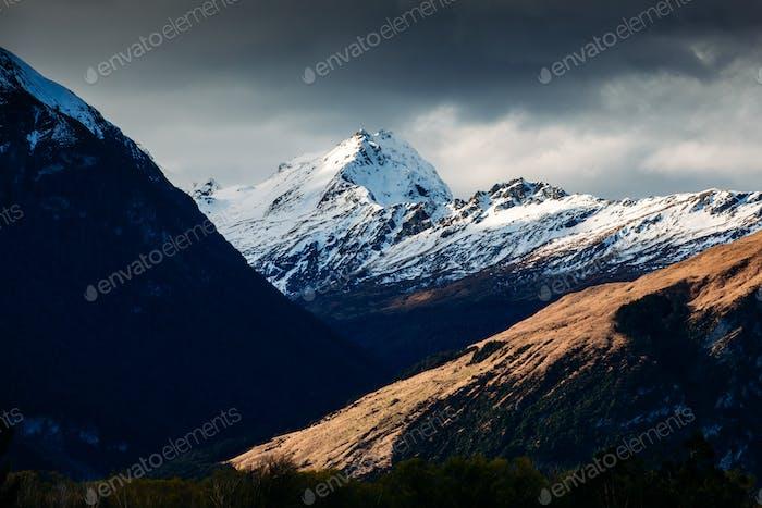 Landschaft rund um Glenorchy und Paradies in Neuseeland