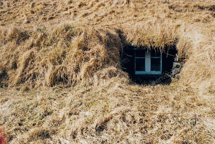 Buried House - Icelandic Turf House