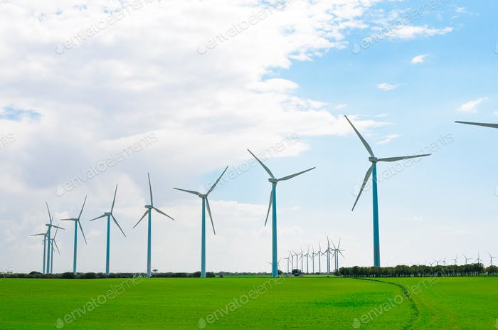 Wind mill farm
