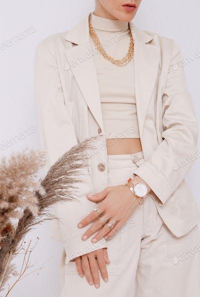 Fashion Paris Lady.