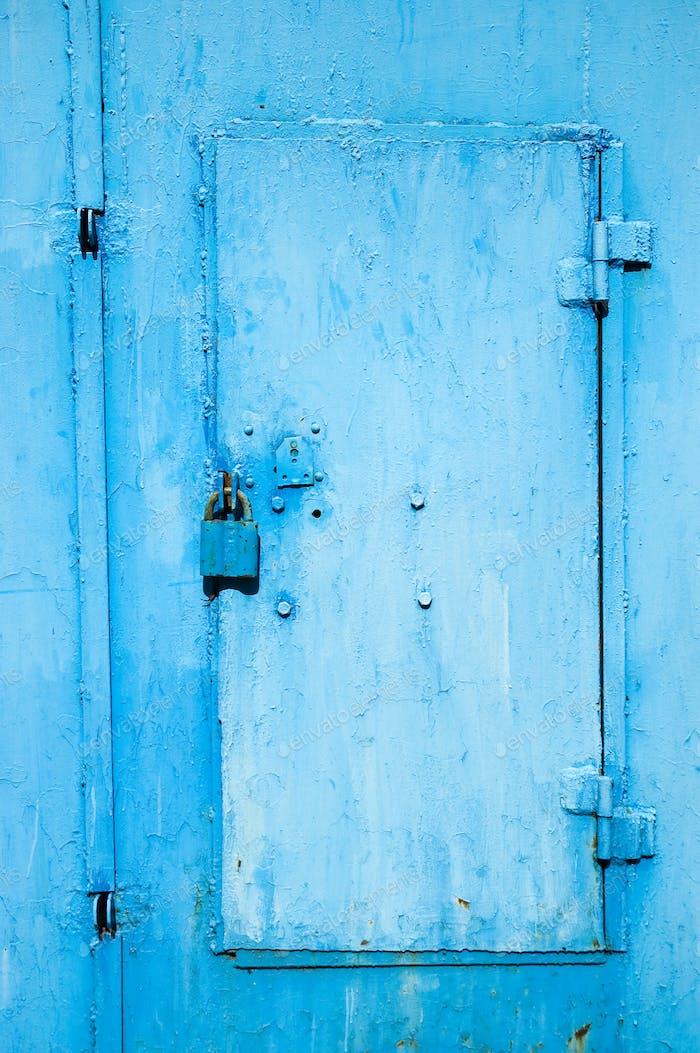 Vorhängeschloss und Tür