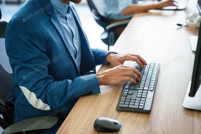 Business, Bildung, Programmierung, Personal und Technologie-Konzept